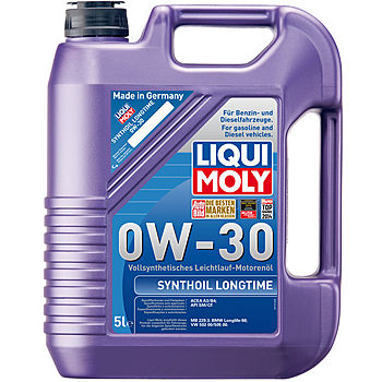liqui moly synthoil longtime 0w 30 acea a3 b4 bmw. Black Bedroom Furniture Sets. Home Design Ideas