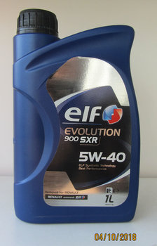 Elf Evolution 900 SXR 5W-40 photo1.JPG