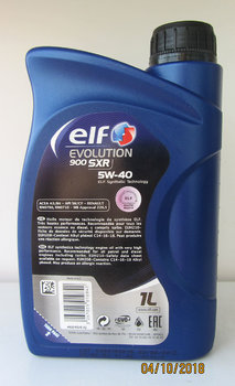 Elf Evolution 900 SXR 5W-40 photo2.JPG