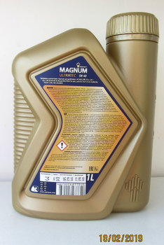 Rosneft Magnum Ultratec 5W-40 photo2.JPG
