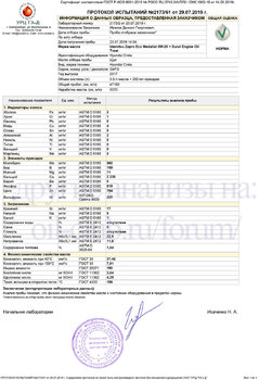 Idemitsu Zepro Eco Medalist 0W-20 + Eurol Engine Oil Treat отработка на Hyundai Creta после 5070км копия.jpg