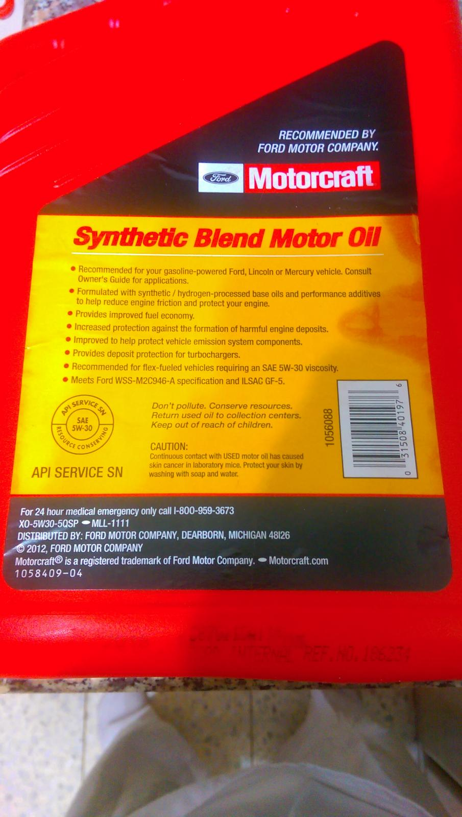 recommendations for ford Oil & filter guide recommended by ford motor 2006-2009 ford diesel vehicles low cab forward 45l fl see owner guide for low temperature oil recommendations.