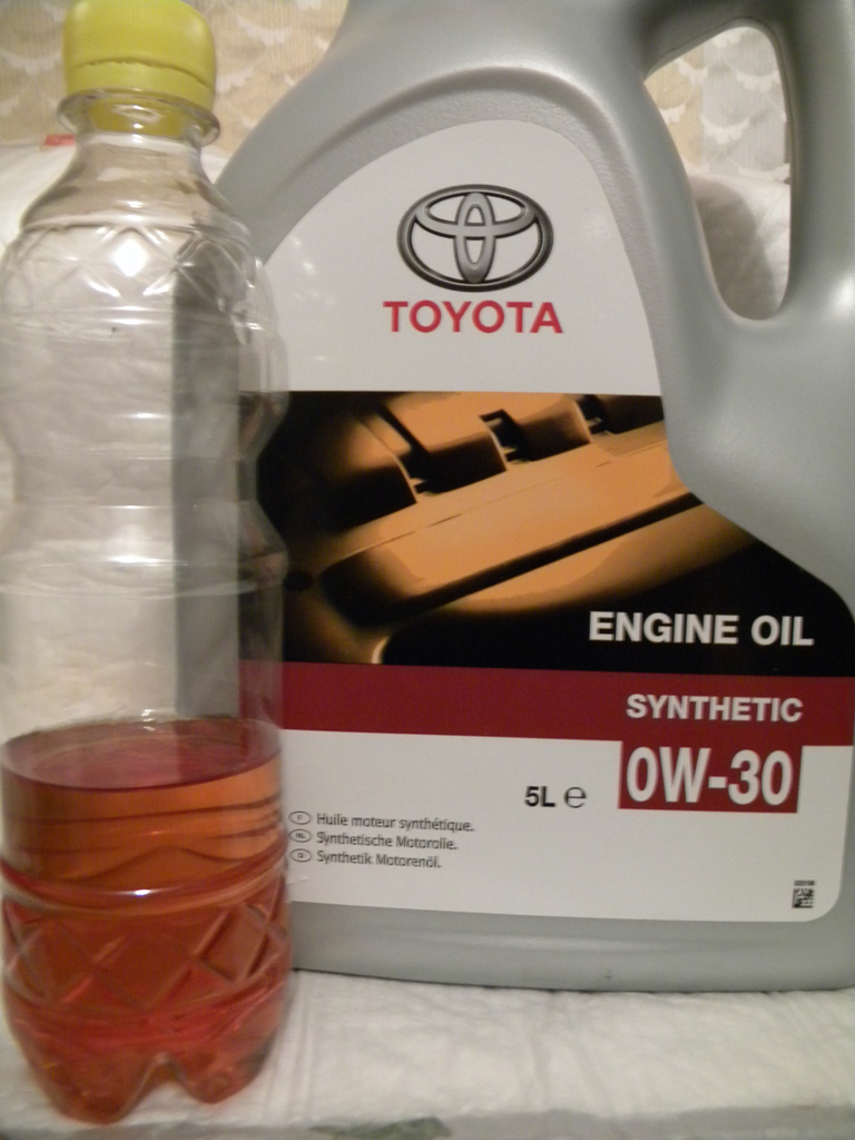 Toyota Engine Oil Synthetic 0w 30